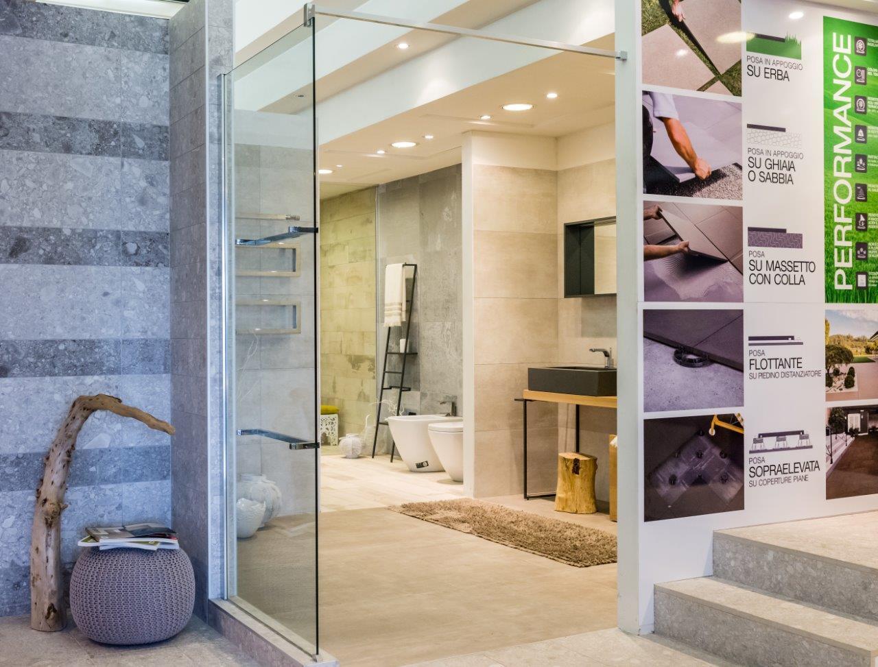 showroom piastrelle, parquet e arredo bagno - zelarino/mestre/venezia - Arredo Bagno Erba